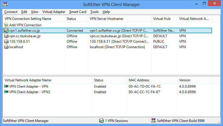 Softether Vpn Client Manager How To Use