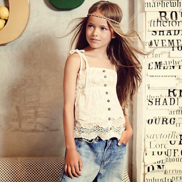 Kristina Pimenova  La niña modelo de 9 años más linda del mundo ... d836fc84bc46c