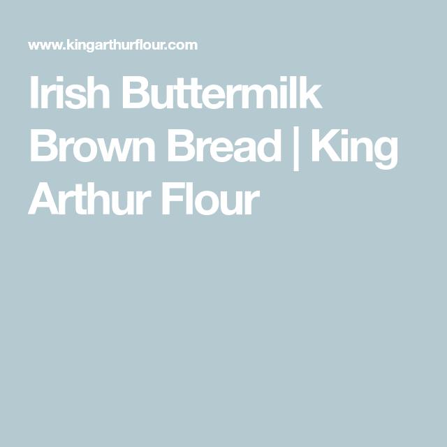 Irish Buttermilk Brown Bread