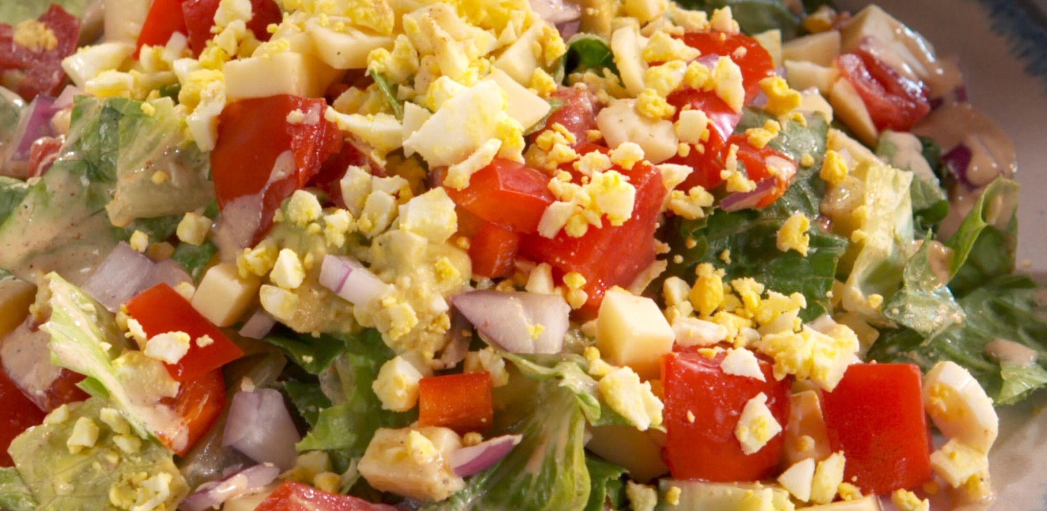 Cobb Salad and Bacon Buttermilk Dressing Recipe