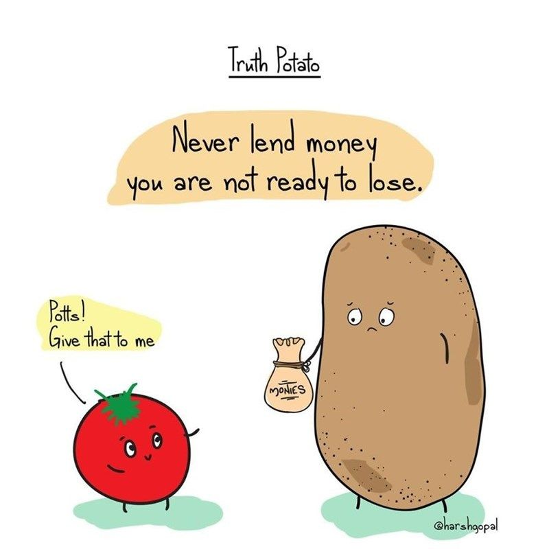 35 Truth Potato Comics That Hilariously Illustrate Life S Harsh Realities Memebase Funny Memes Truth Funny Quotes Comedy Memes