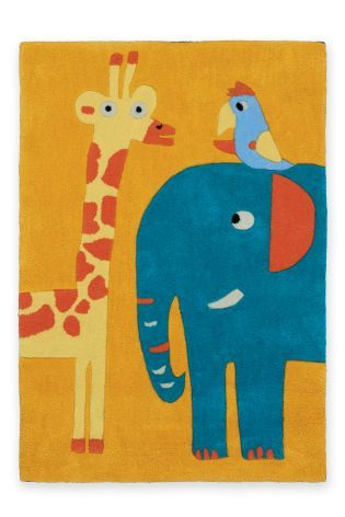 Jungle Animal Rug From The Next Uk Online