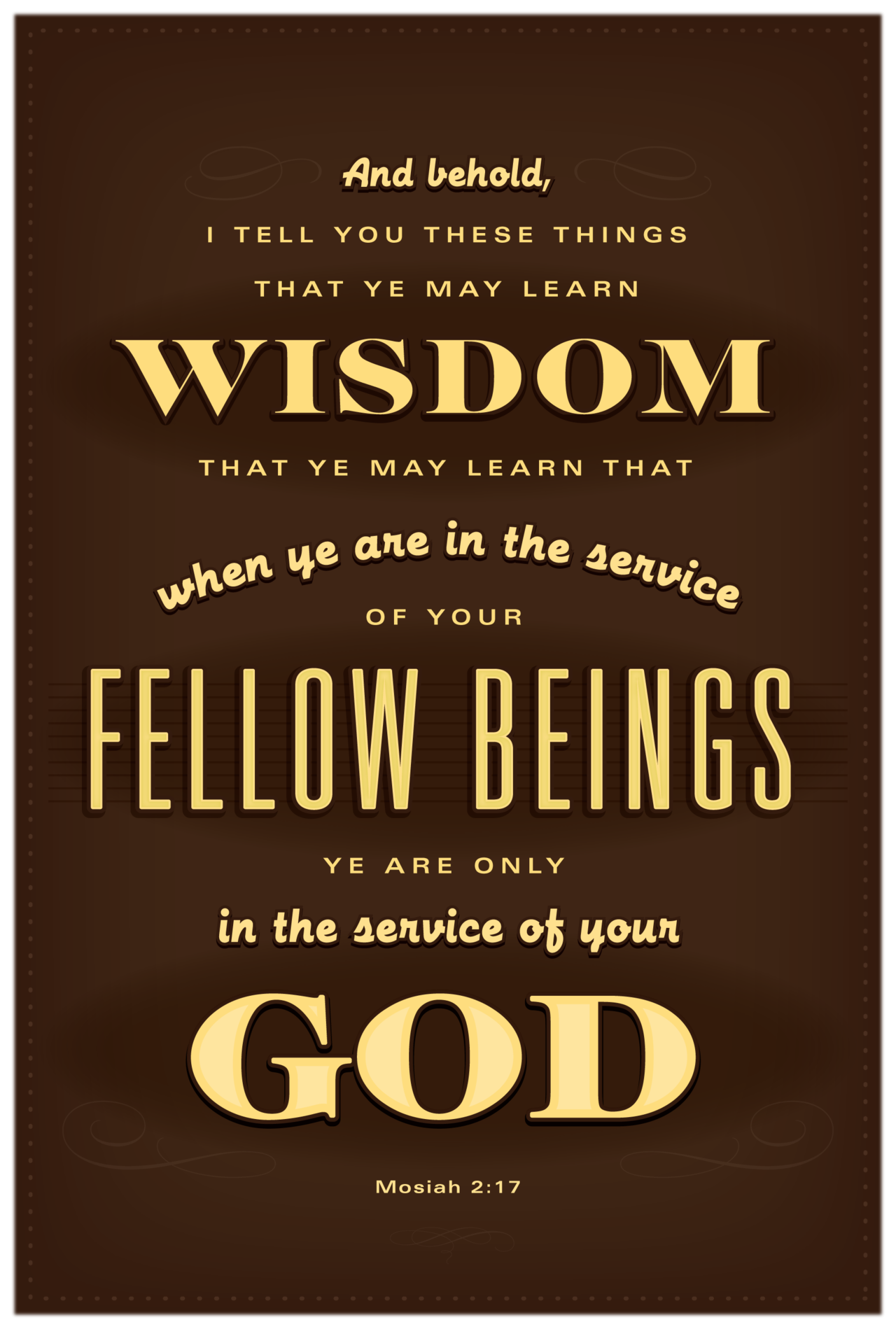 Wisdom Quotes Bible Mosiah 2 17  Monthly Scripture  Pinterest  Scriptures Wisdom