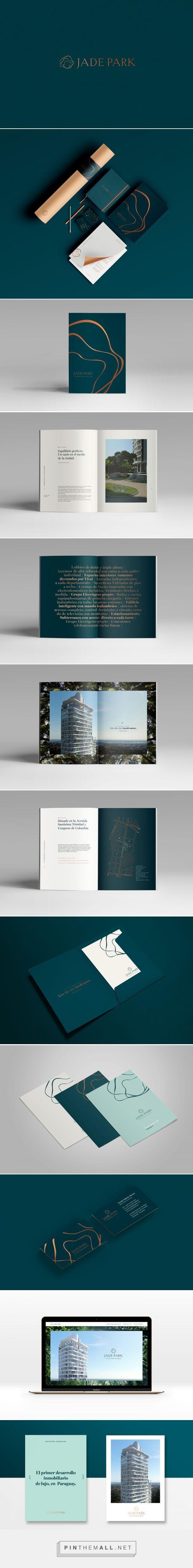 Jade Park Branding on Behance   Fivestar Branding – Design and Branding Agency & Inspiration Gallery