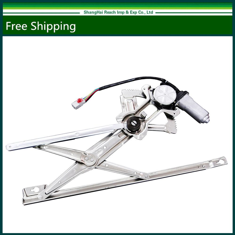 New Front Left Driver Side Power Window Regulator With Motor For Honda Accord