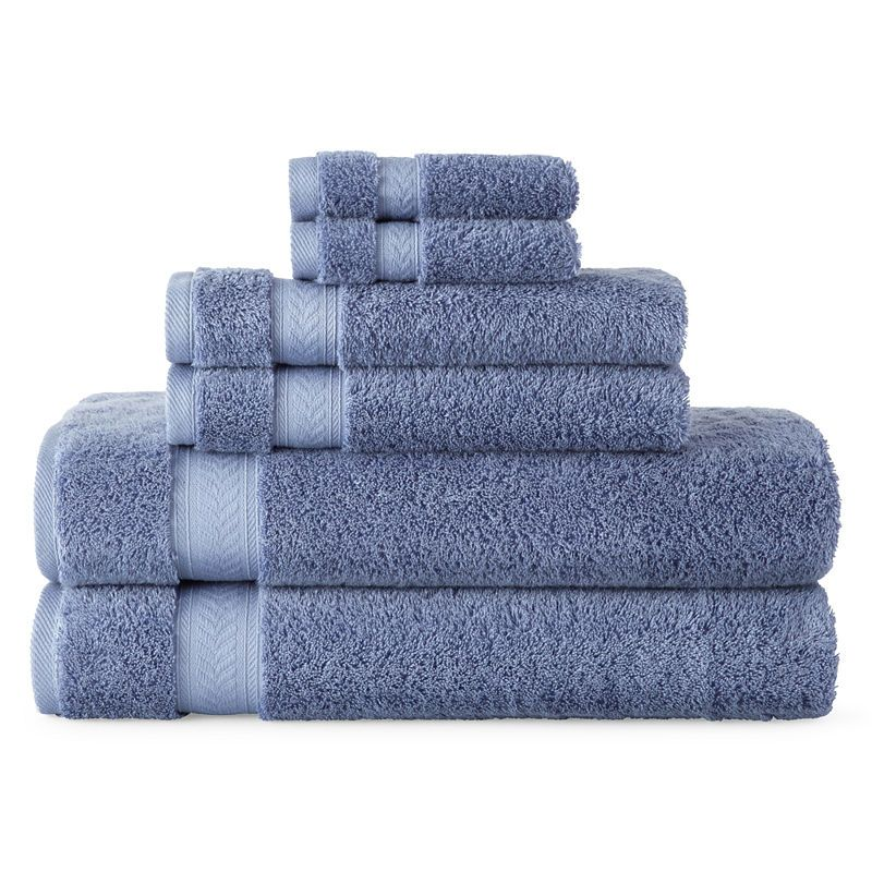 Enjoyable Royal Velvet Luxury Egyptian Cotton Loops 6 Pc Bath Towel Squirreltailoven Fun Painted Chair Ideas Images Squirreltailovenorg