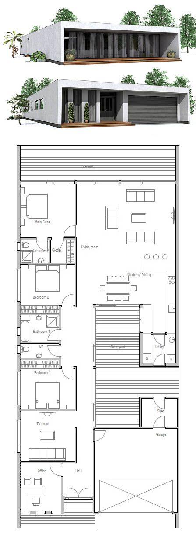 Plan De Maison, Petite Maison | Grundrisse | Pinterest | Container
