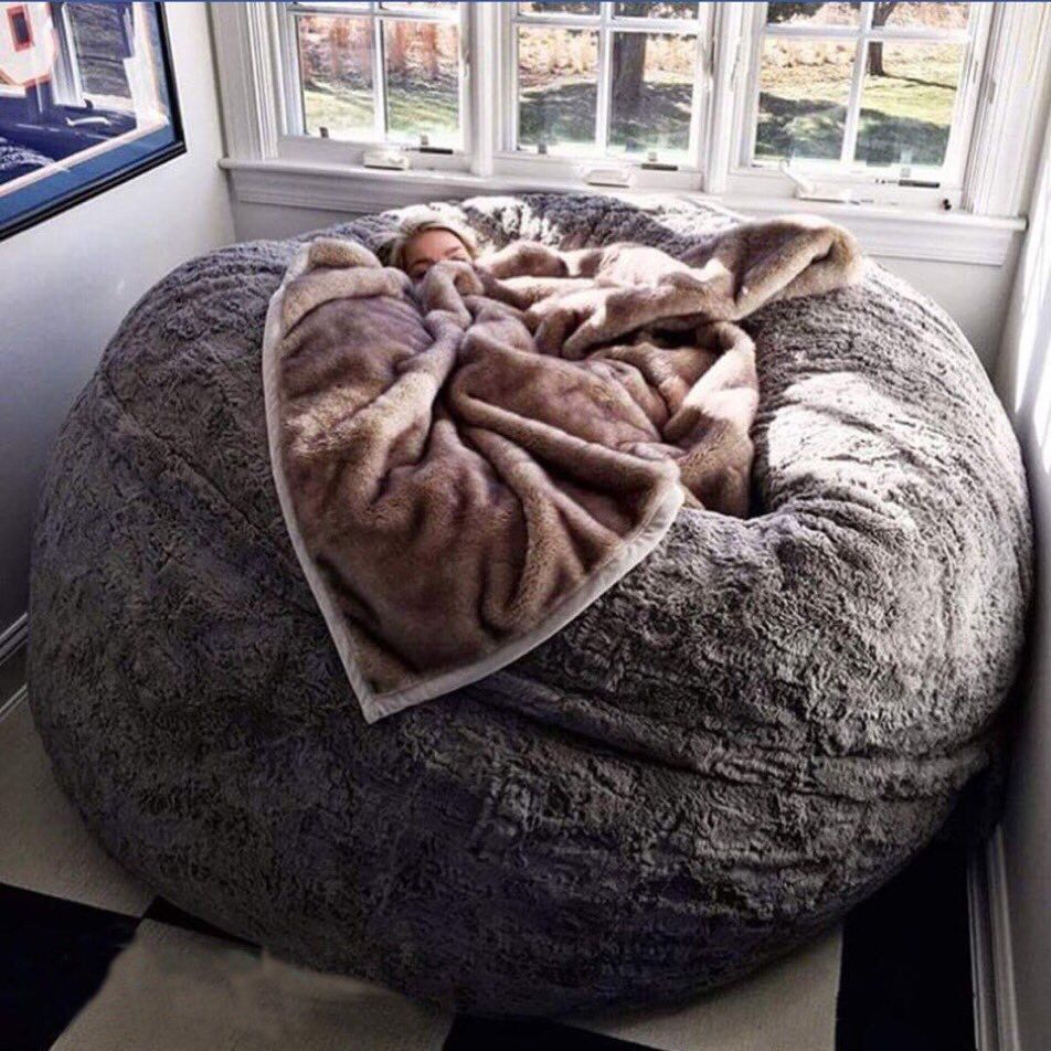 Sitzsack Riesig Bean Bag Bed … | I Want This...... | Home