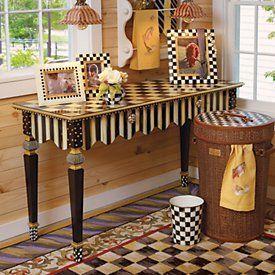 MacKenzie-Childs Furniture . peppercorninteriors.com