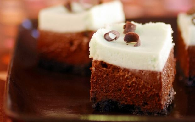 Mint Chocolate Cheesecake by Food Network Kitchens (Chocolate) @FoodNetwork_UK