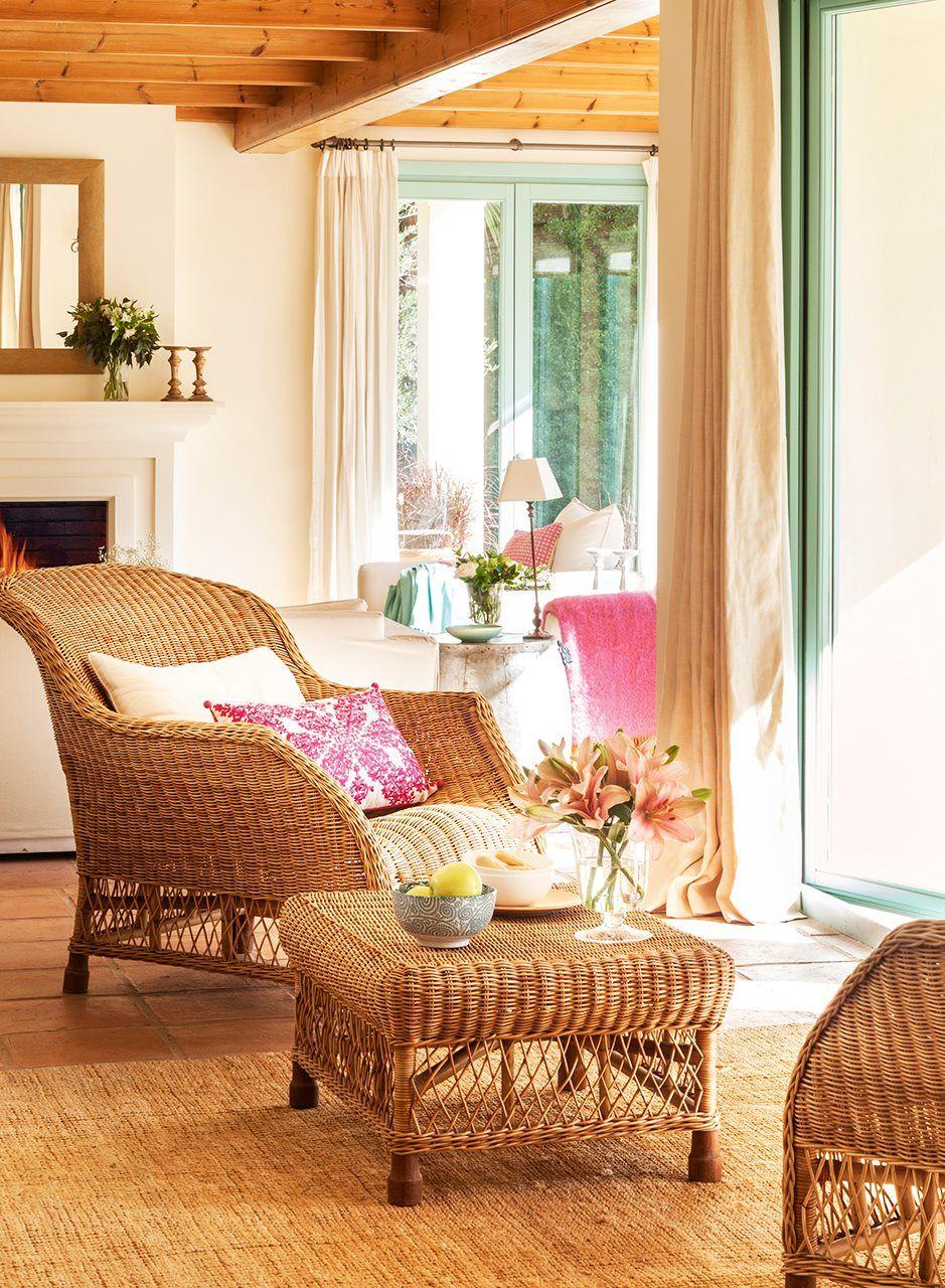 Estar Con Butaca Y Mesa De Fibra Estar Con Muebles De Fibra  # Muebles Campo Gibraltar