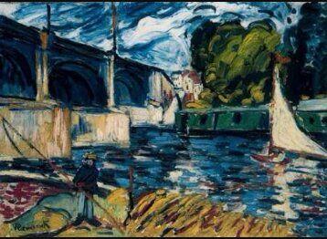 El puente de Chateau Autor: Maurice de Vlaminck | Producción ...