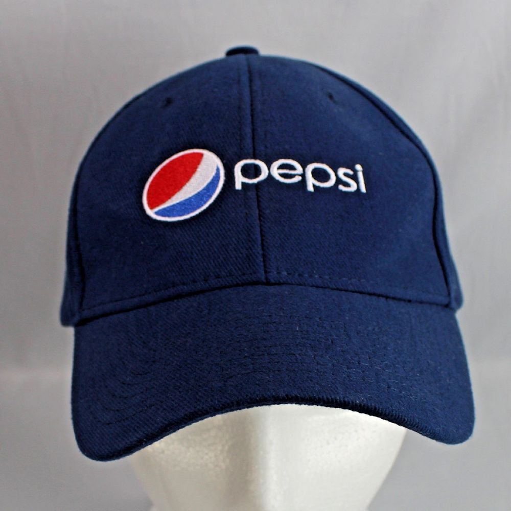 1fe53cb767390 Pepsi Blue Ball Cap Hook and Loop Back Style 7696BL  Pepsi  BaseballCap