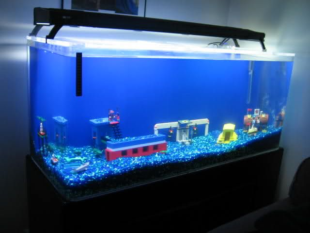 fish tank ideas lego fish tank aquarium advice