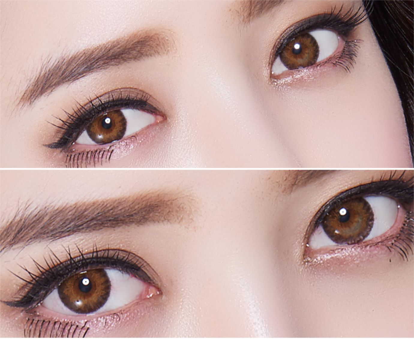Amazing realistic colored contacts for dark or brown eyes ...