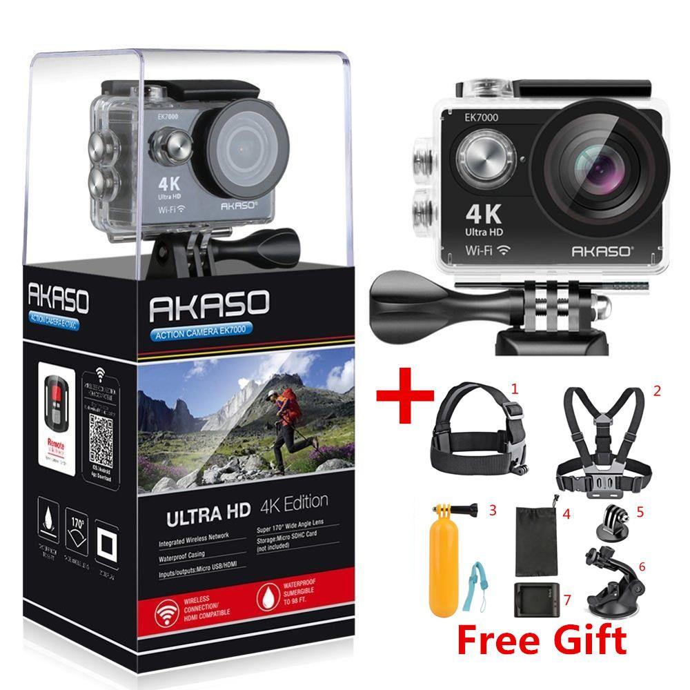 AKASO EK7000 / EK5000 4K WIFI Outdoor Action Camera Video