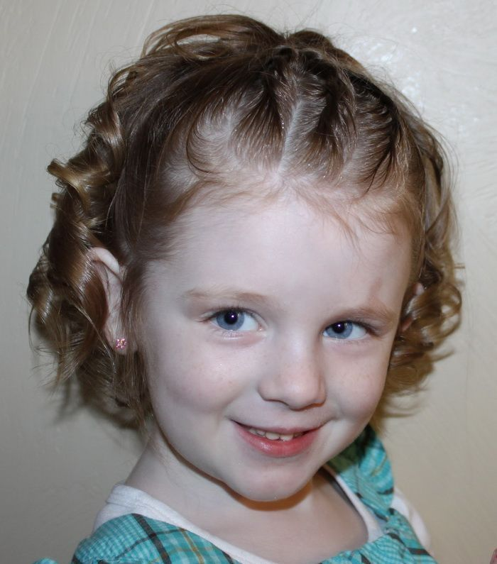 Kids Hair Style For Girls With Short Hair Hairstyles For