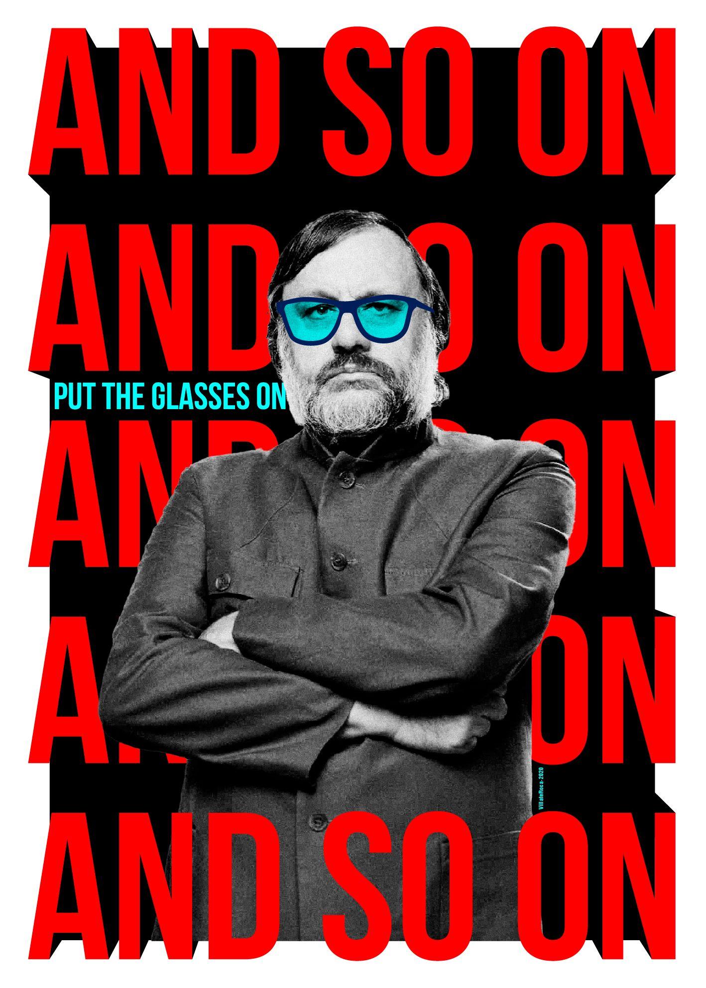 #Slavoj #Zizek #Phylosophy #Poster #PhotographyArt #Cartel #Filosofia #AndSoOn #JohnNada #APervertsGuideToIdeology #GraphicDesign #DiseñoCubano #Typography #Tipografia