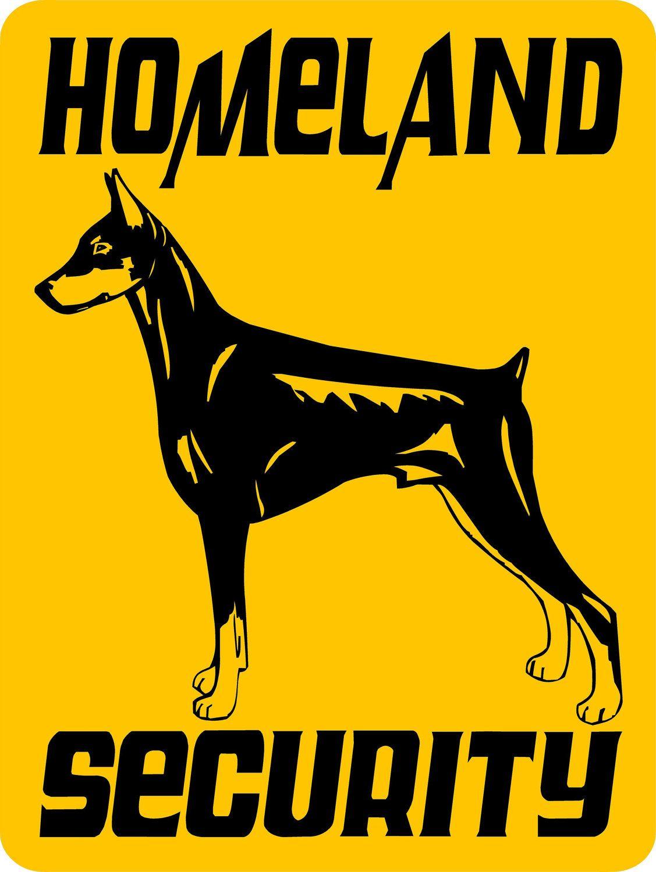 Doberman Pinscher Dog Sign 9x12 ALUMINUM 3270 by animalzrule, $12.00