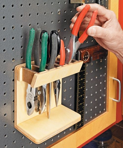 Handy Tool Stand: Keep <strong>small tools organized</strong> and within easy reach.