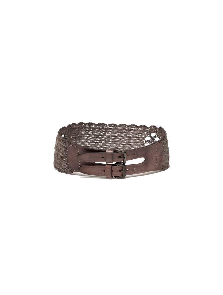 Cinturón muy versátil, me gusta un montón! (Hoss Intropia, 68€)