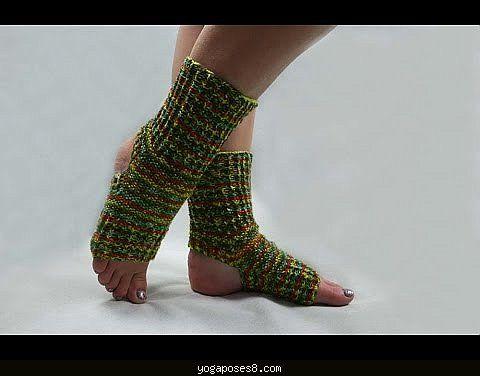 Awesome Easy Knit Yoga Sock Pattern Yogaposes8 Pinterest Yoga