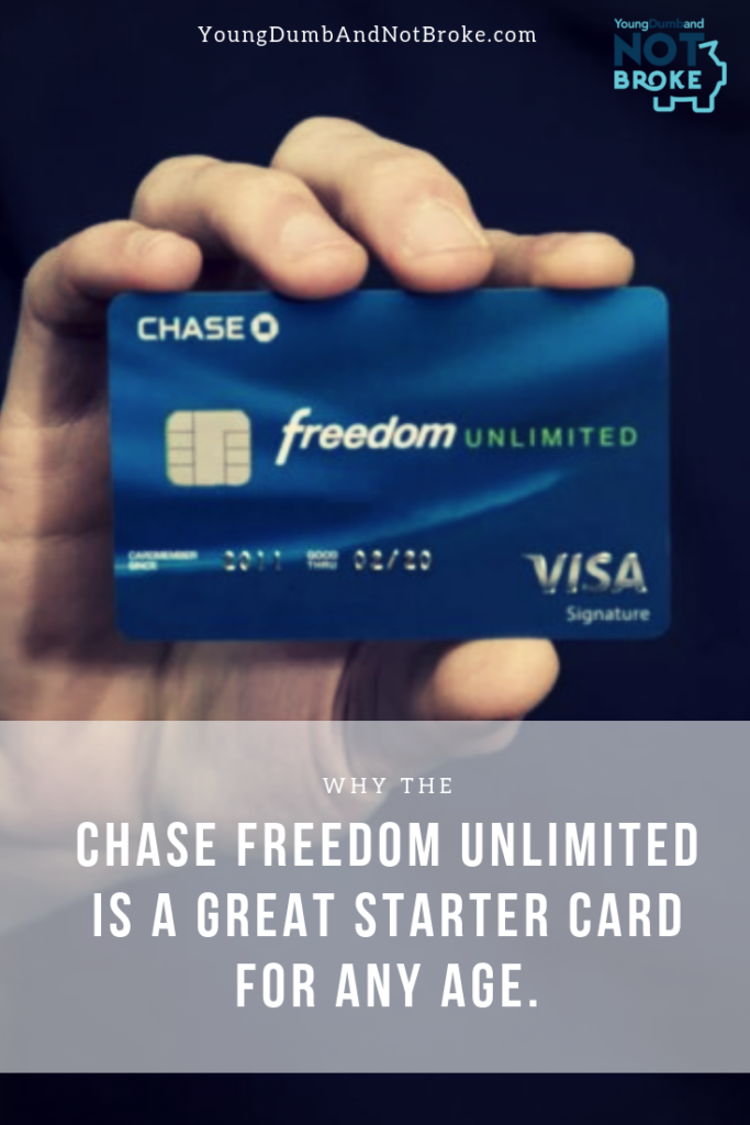 The Chase Freedom Unlimited Is A Great Starter Card Learn More Here Chase Creditcards Chase Freedom Credit Card Paying Off Credit Cards