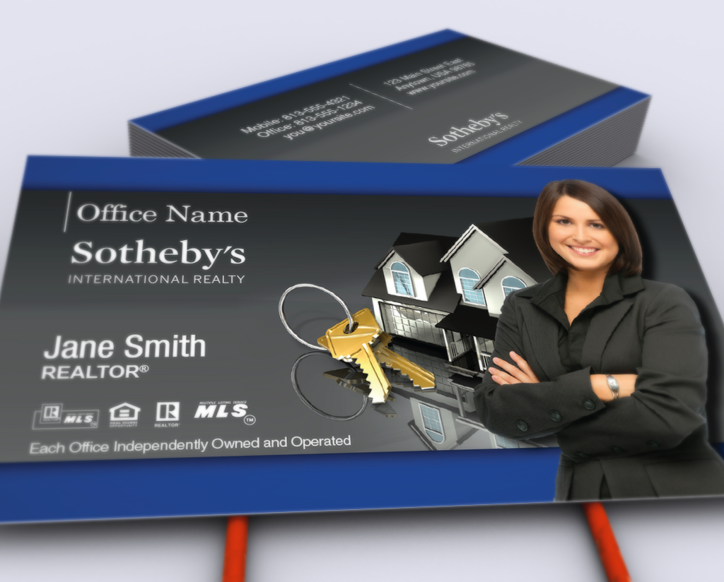 Pin By Realty Cards Printing Company On Real Estate In 2020 Business Cards Online Realty Sothebys