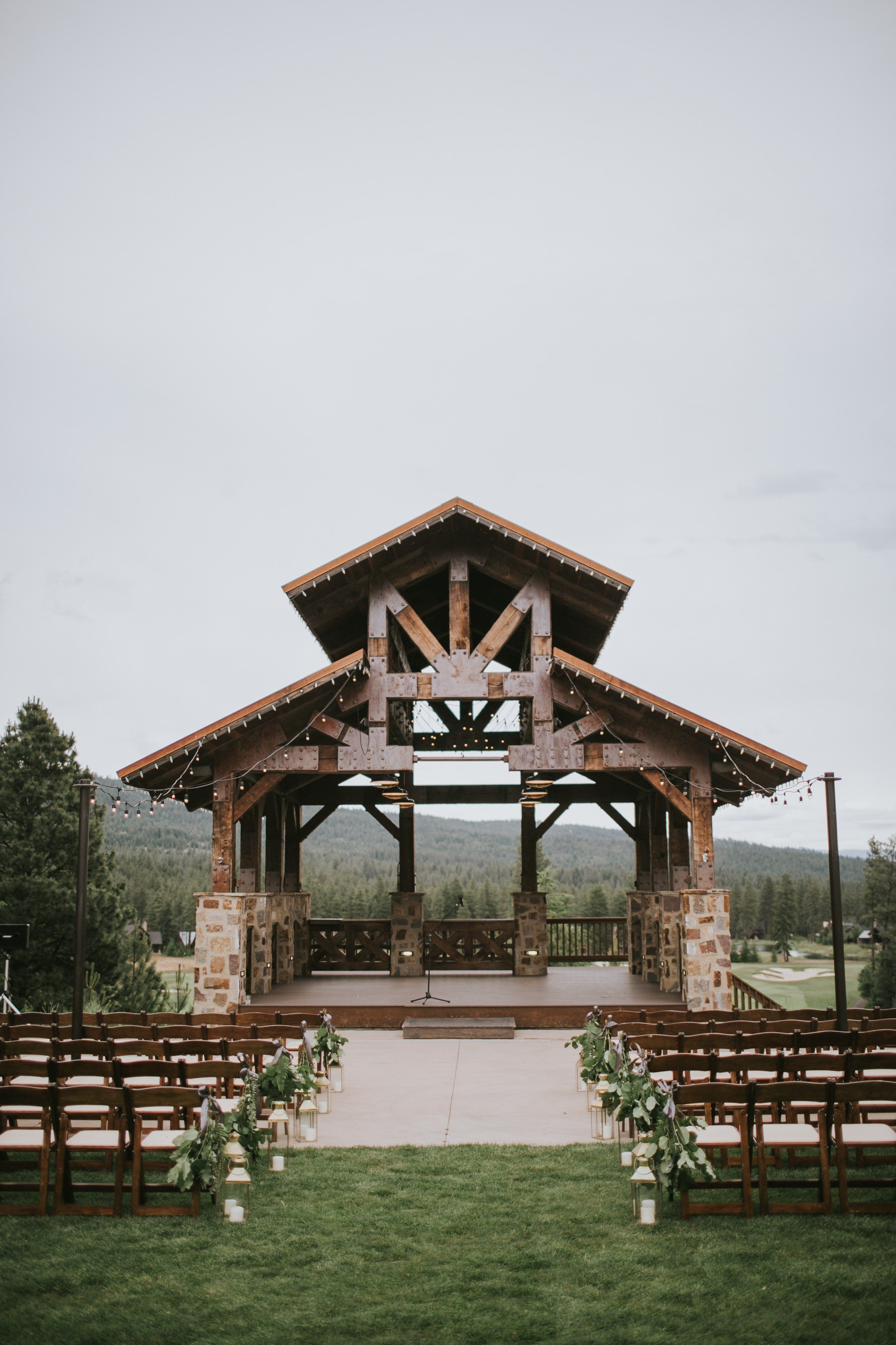 A Modern Winery Wedding in Washington State | Rustic ...
