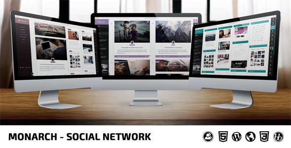 Monarch v1.8.6 - Innovative WordPress Community Theme - https ...