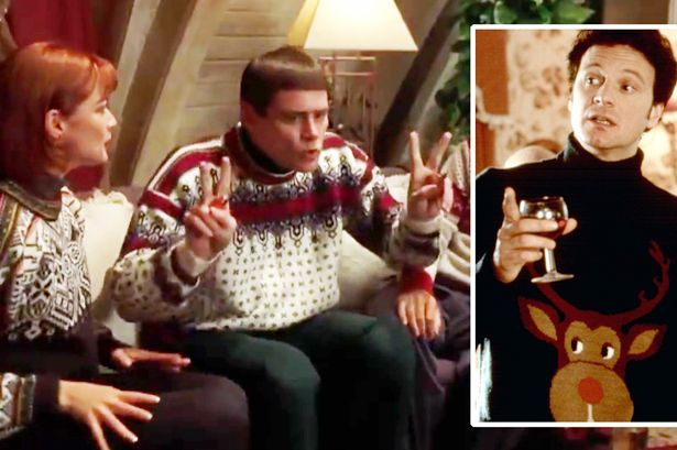 Dumb And Dumber Oh My God The Sweaters Sweaters Ski Sweater Friend Christmas