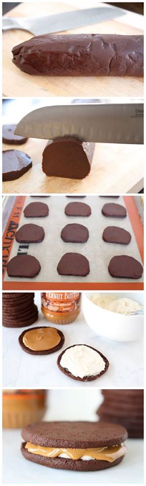 Homemade Oreos with Peanut Butter Recipe