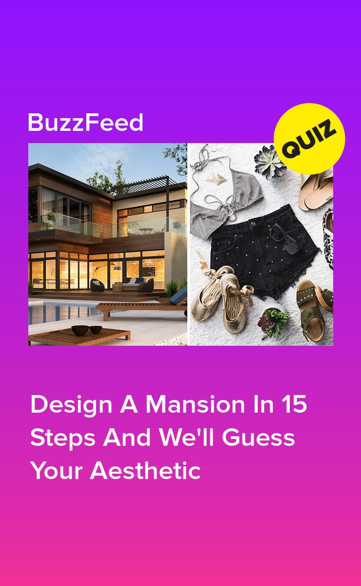 Design A Mansion And We'll Reveal Your Aesthetic | Quizzes
