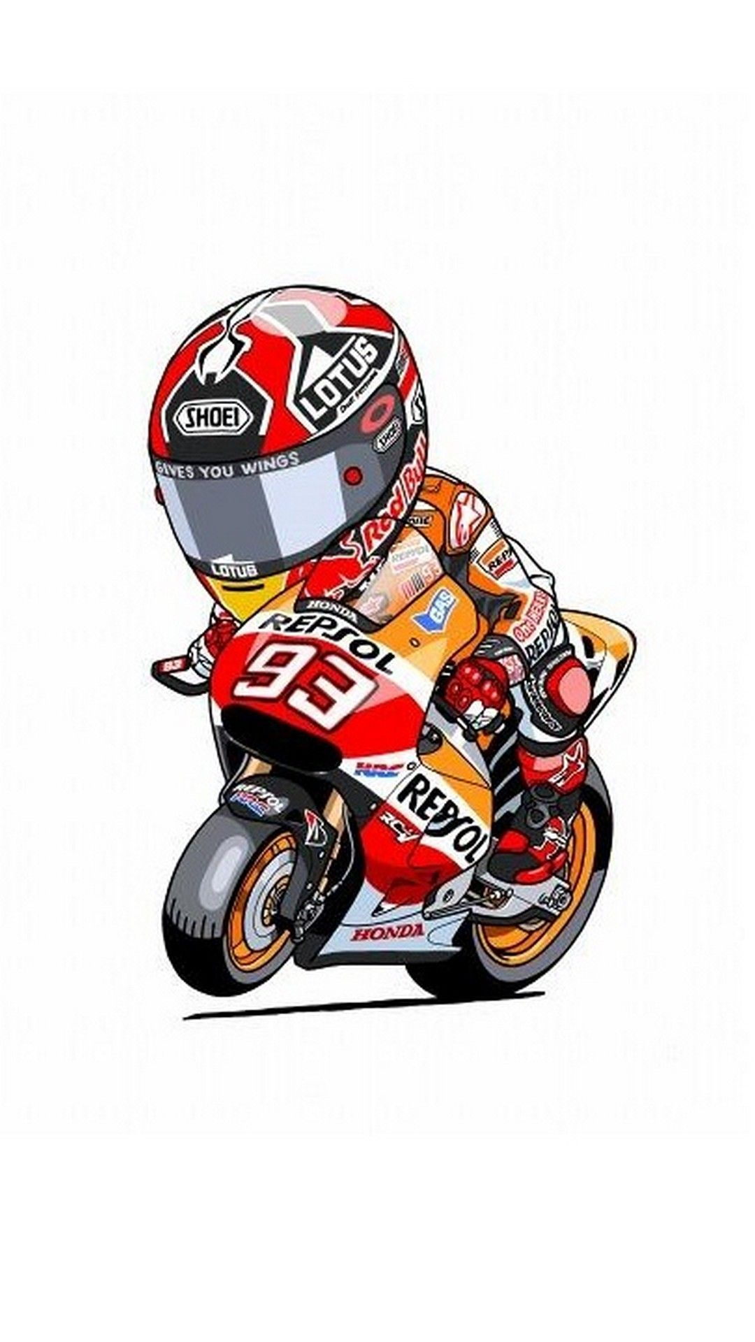 New Iphone Wallpaper Iphone Wallpaper In 2020 Motorcycle Art Marc Marquez Motorcycle Wallpaper