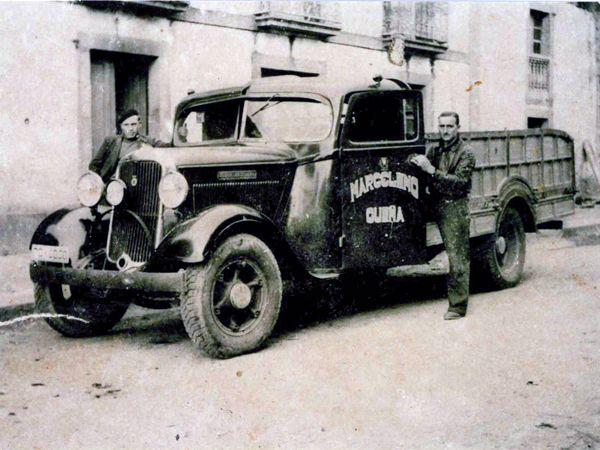 1935 el cami n dodge ya cost ptas comprado en el for Garage ford denney 90