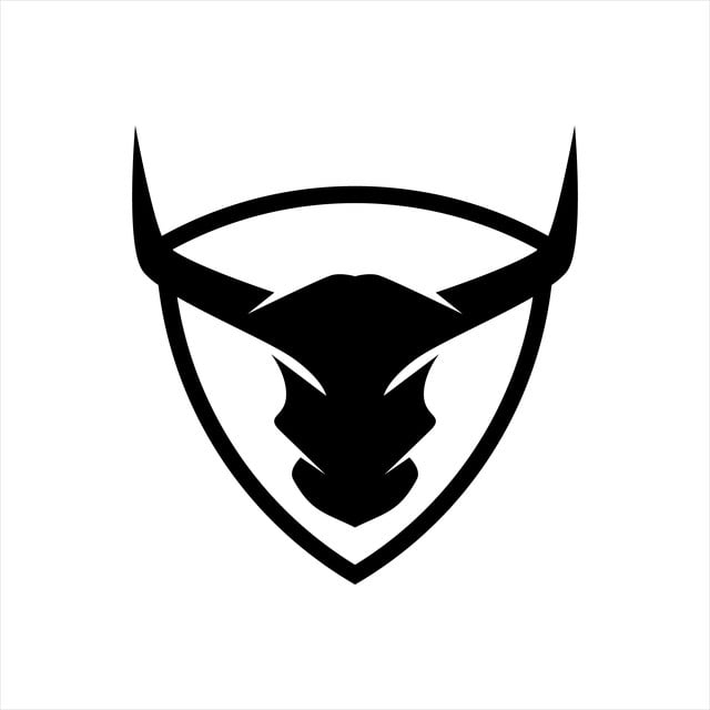 Buffalo Abstract Logo Logo Icons Abstract Icons Bull Png And Vector With Transparent Background For Free Download Abstract Logo Bull Art Bull Logo