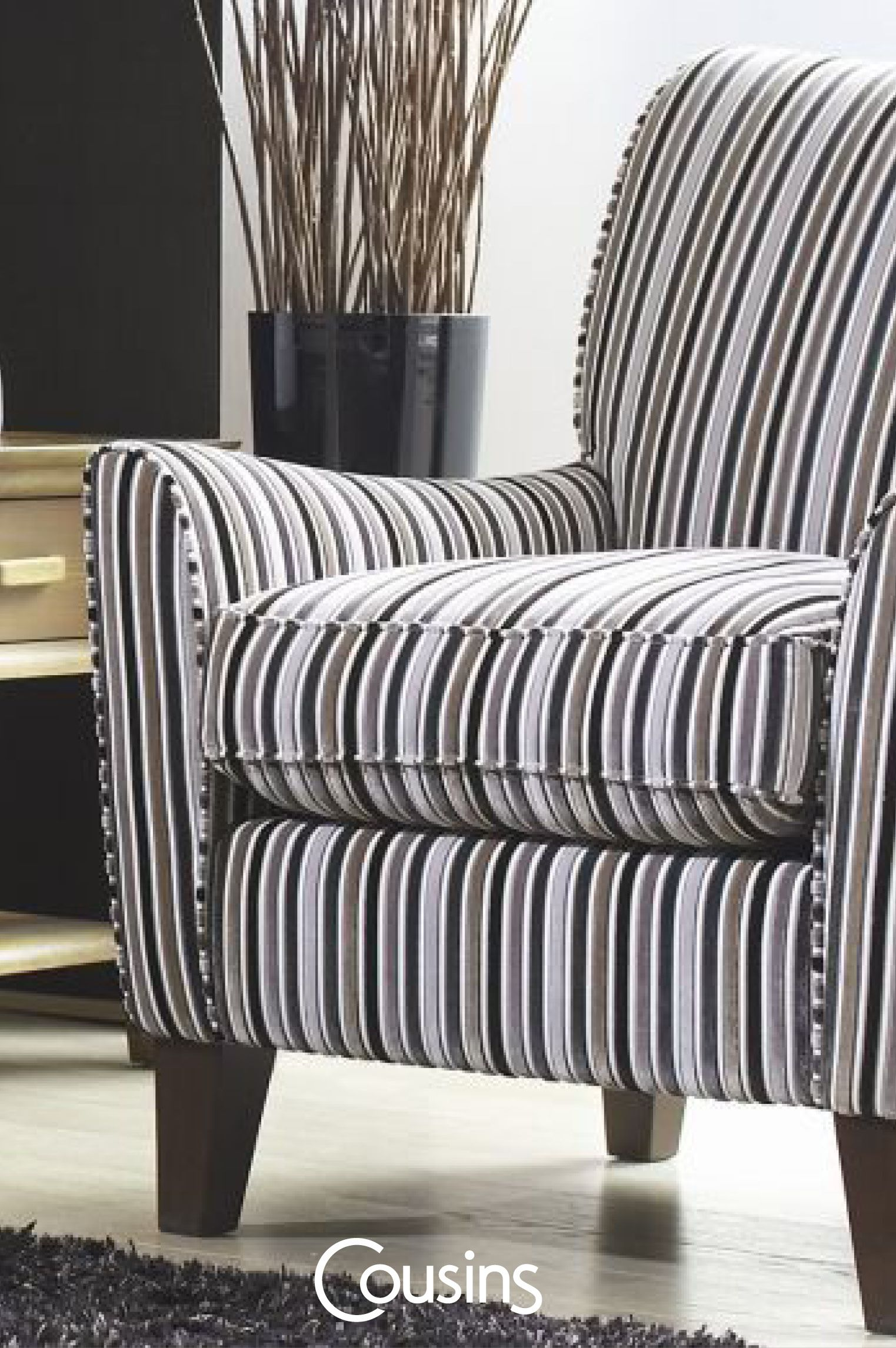 Oakley Accent Chair - type B | Living Room | Chair types, Accent ...