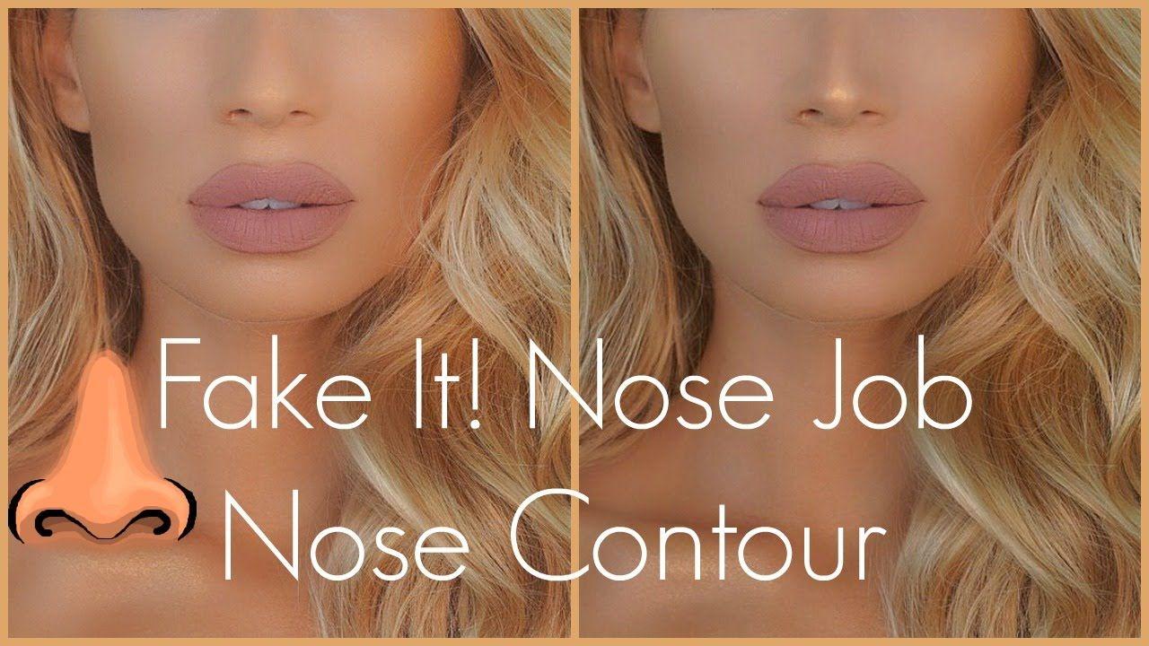 Fake It! Nose Job Nose Contour Tutorial Nose
