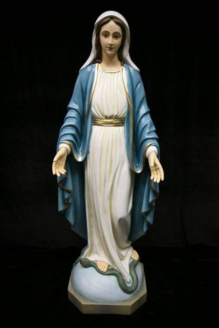 Pin On Statues Of The Virgin Mary