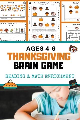 Kindergarten Math Enrichment Worksheets