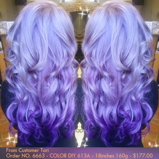 Diy Dye Your Hair With White Blonde Indian Remy Clip In Hair