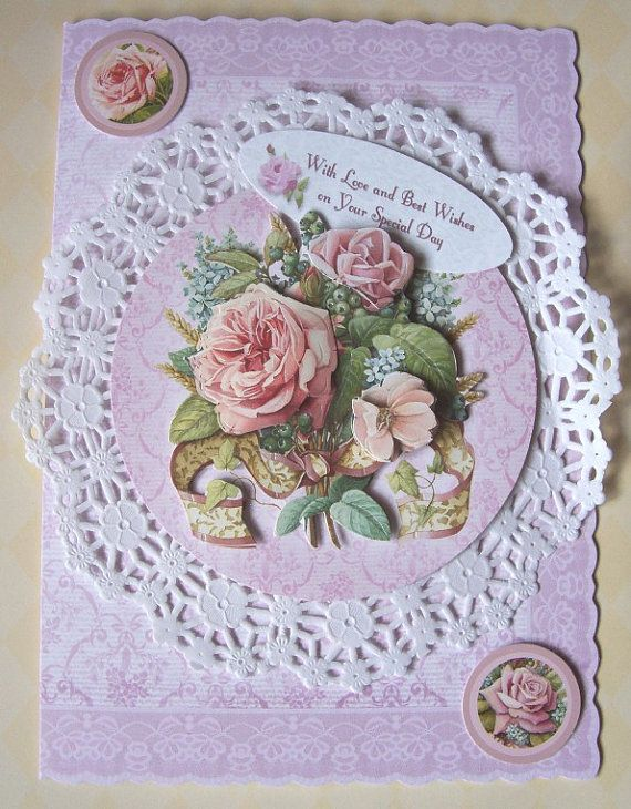 Wedding Day Card'With Love & Best Wishes on Your by SACards, £4.75