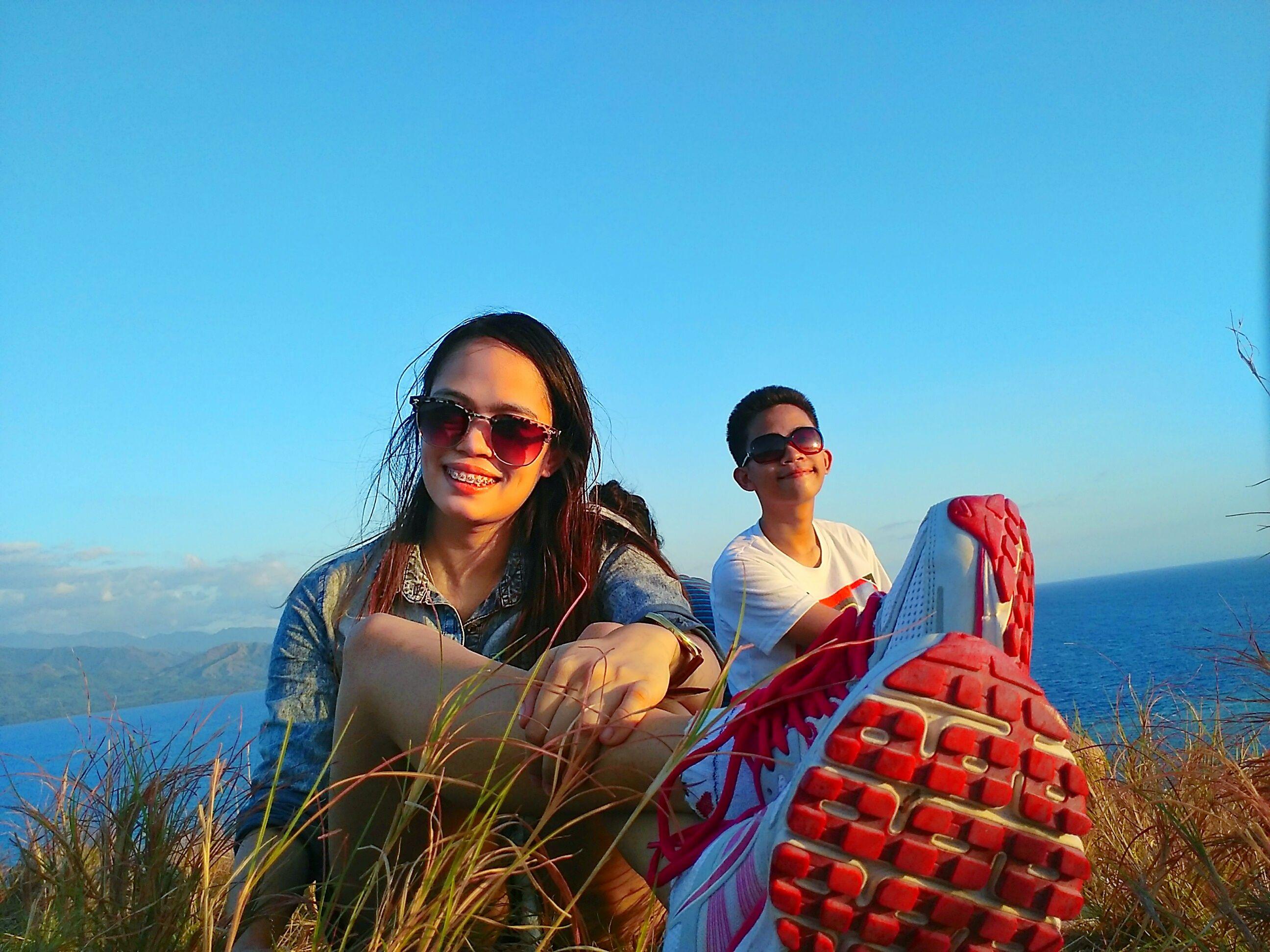 tiring yet fun Hill Trek in Malalison Island.