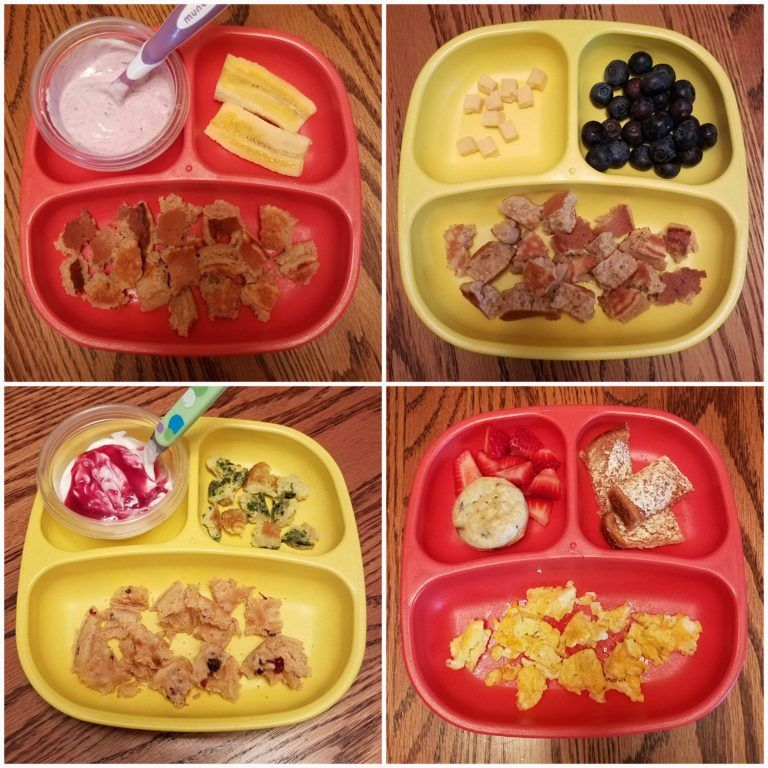 Easy Toddler Breakfasts (12 Months)
