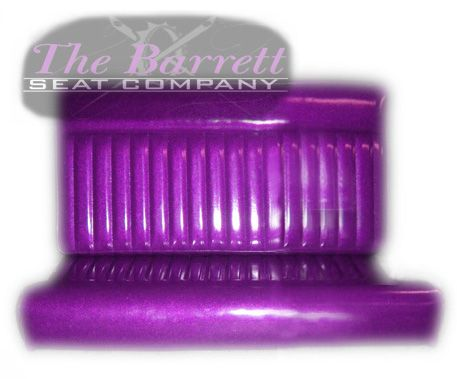 Redo Chevy Interior Purple Metal Flake Vinyl Bench Seats By
