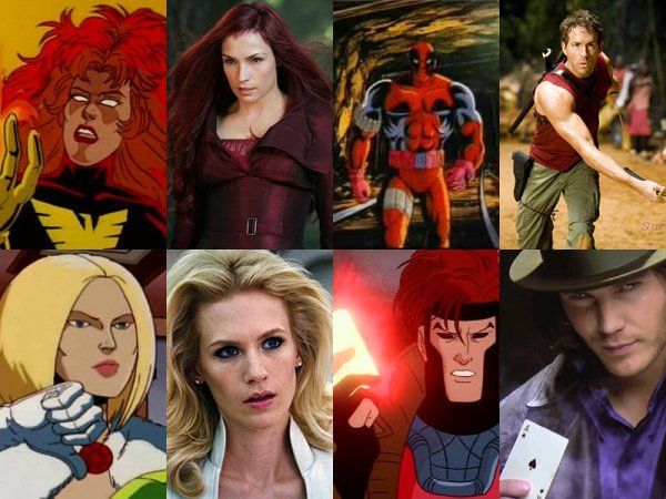X Men Characters Cartoons Vs Movies Pics X Men Movie Pic Man Movies