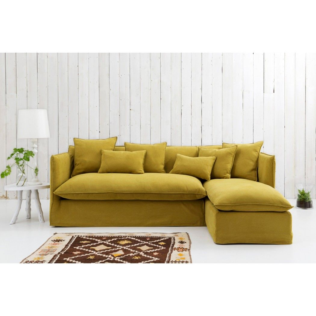 Sophie Loose Cover Corner Sofa Bed With Storage Right Hand Facing