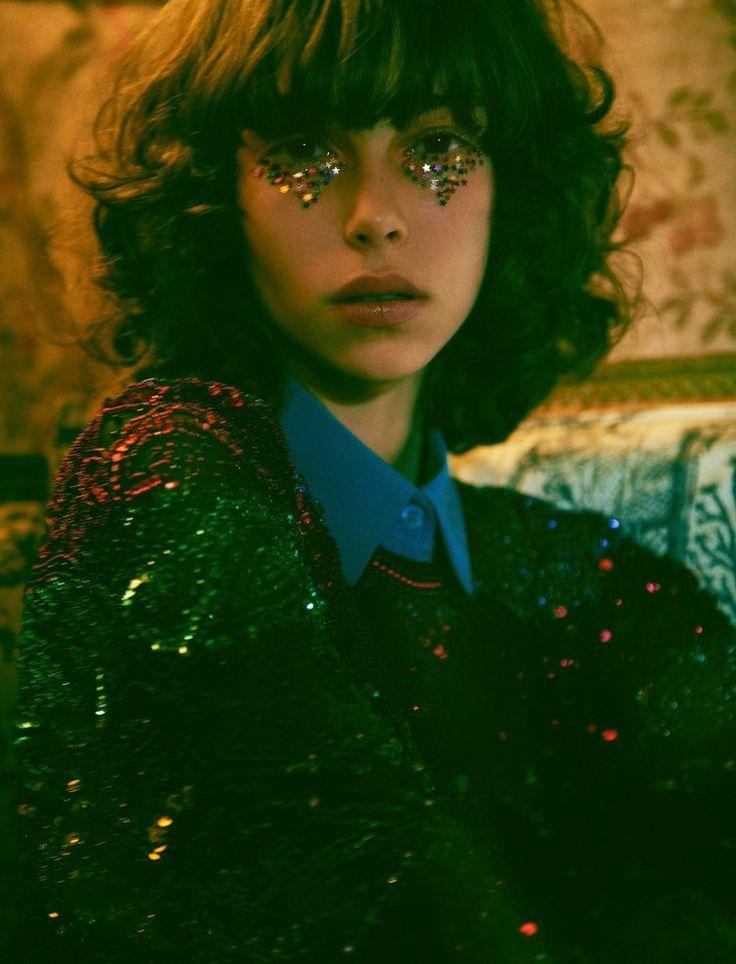 Isabella Ridolfi, Lorena Maraschi, Sabrina Cristina Geib, Ari Westphal by Zee Nunes for Vogue Brazil, December 2015.