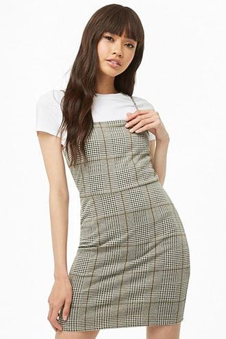 6be929647963 Glen Plaid Mini Dress | Products in 2019 | Dresses, Plaid dress ...
