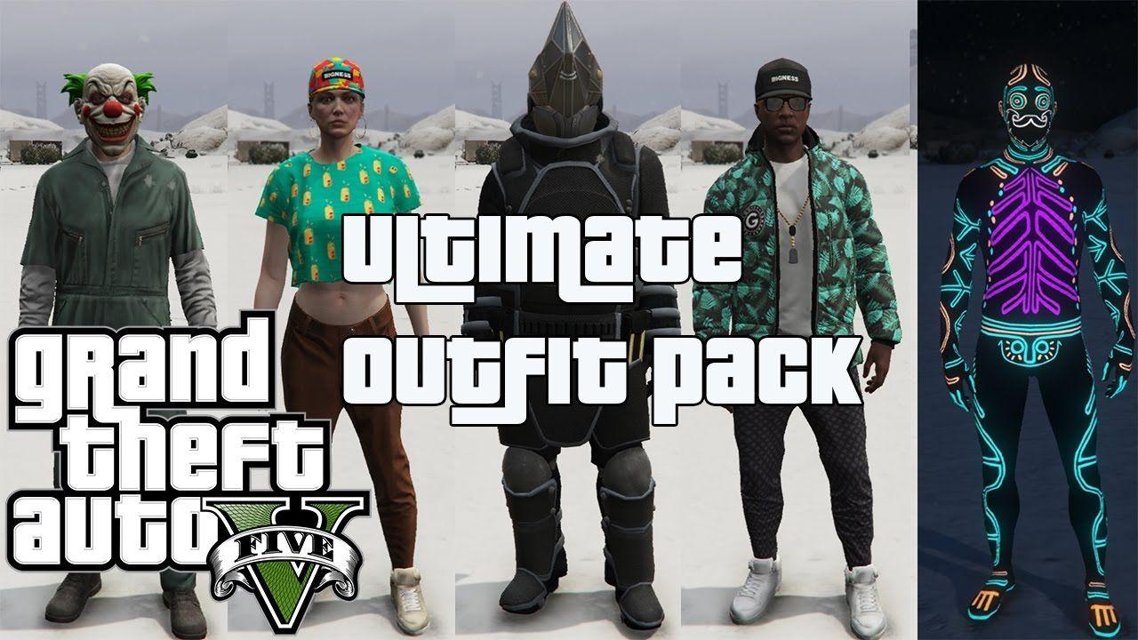 GTA 5 - Ultimate Outfit Pack [Menyoo] 1 4 | Обзоры игр и модов! in